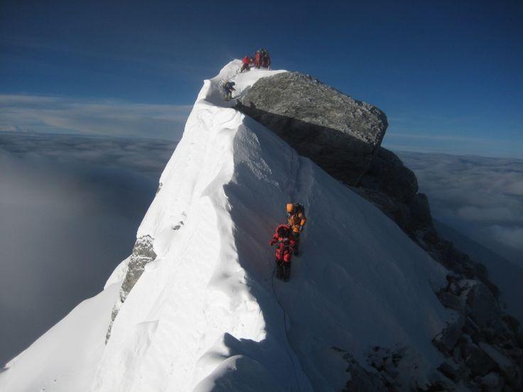 High on Everest!!