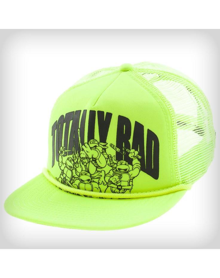 Teenage Mutant Ninja Turtle Totally Rad Trucker Hat   Hats I ...