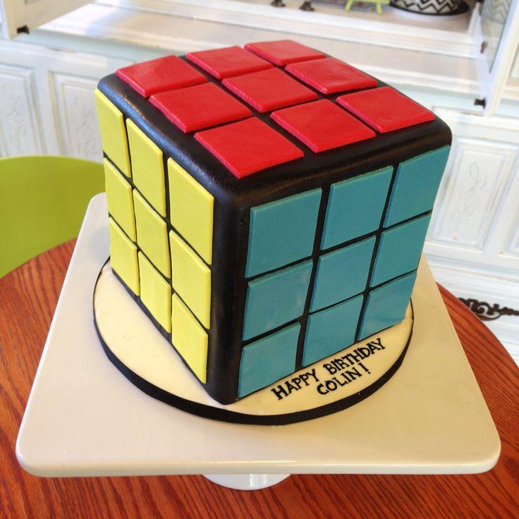13 best Rubik cube cakes images on Pinterest Rubiks cube