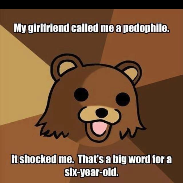 Pedobear Big Words                                                                                                                                                                                 More