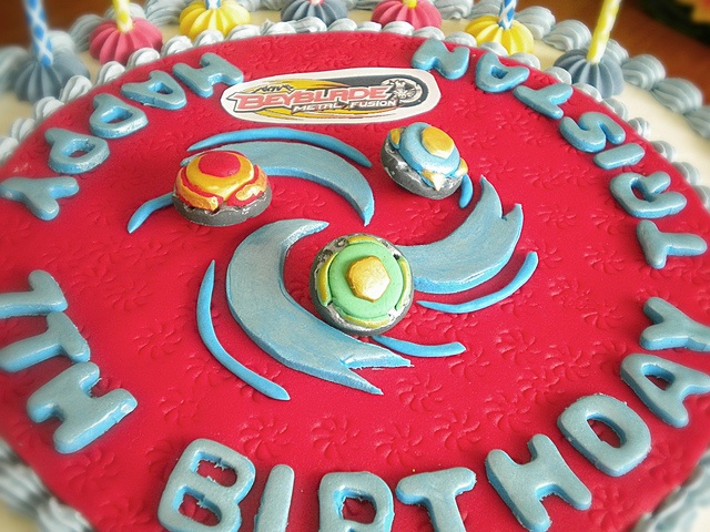 8 best johnny 39 s 7th birthday images on pinterest for Anime beyblade cake topper decoration set