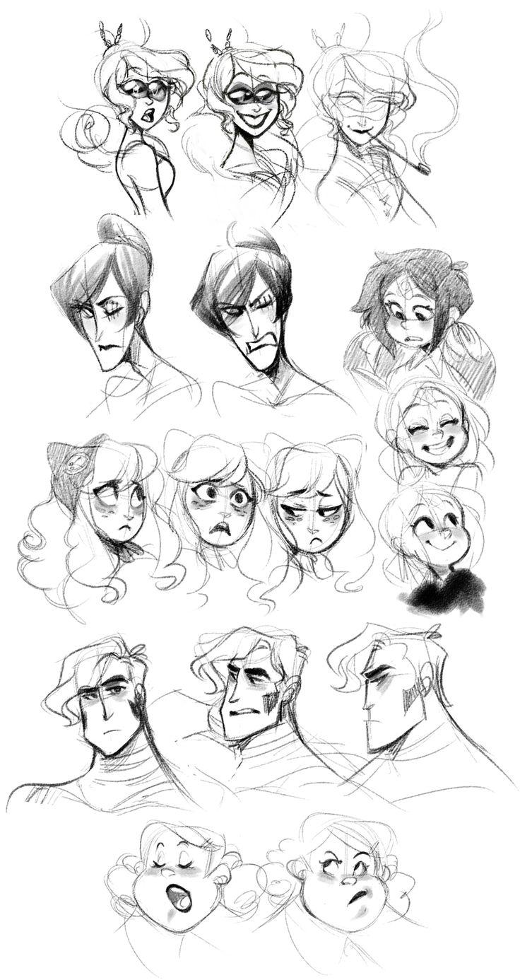 Uma bibilioteca de referências para desenho de personagem                                                                                                                                                     Mais