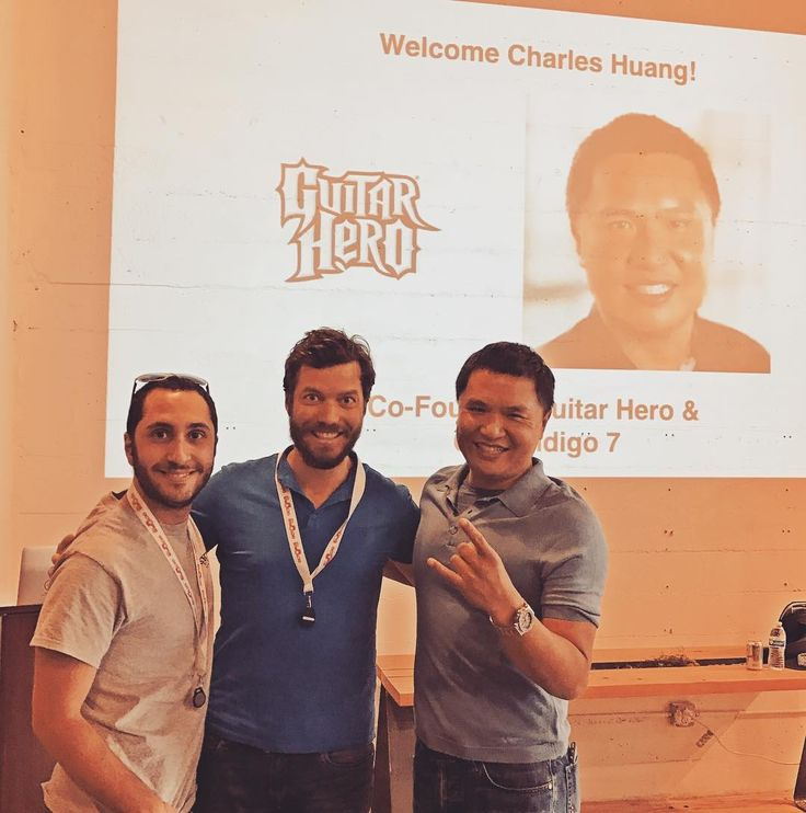The one who never played this game may cast the first stone! The creator of Guitar Hero 🎸 was in our office. Very proud to have presented Octopus Watch to this legend. Thanks #Hax for the intro. #$1Binrevenuein7month #hardware #makersgonnamake #maker #antismartwatch #iot #startup #kid #familytech #wearable #iconbasedwatch #OctopusWatch #kickstarter #indiegogo #smartkids