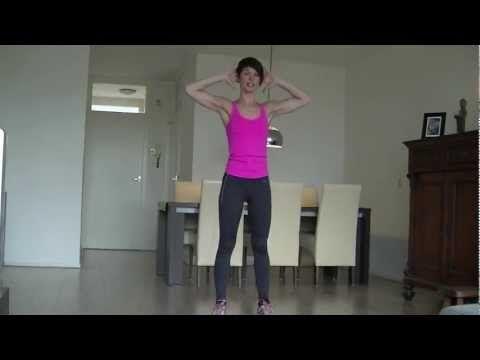 Strakke benen en mooie billen dmv de Squat Challenge: 100 squats per dag. - YouTube