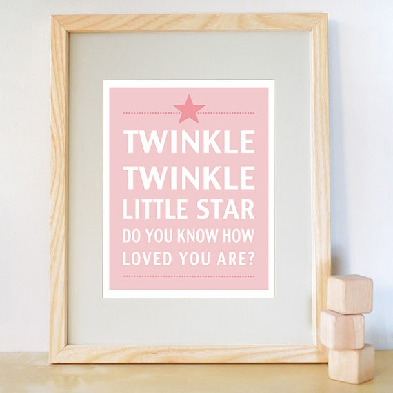 Awh.Child Room, Baby Gifts, Gift Ideas, Cute Quotes, Girls Room, Twinkle Twinkle, Baby Room, Babies Rooms, Baby Shower