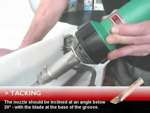 Plastics Welding using the Leister Triac Plastic Welding kit.mp4 - YouTube