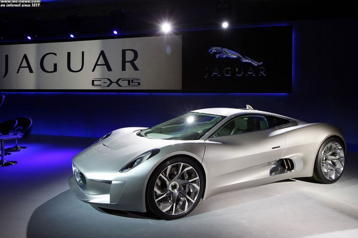 Jaguar Hybrid C-X75  Source: http://www.wc-news.com/jaguar-hybrid-c-x75-concept-jaguar-cars-and-williams-f1/