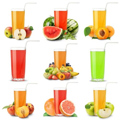 Fruit Juices: One of the fresh options that give you a lot of vitamins and minerals is to extract juice from seasonal fruits and have it in breakfast. It is undoubtedly a good choice to make.
