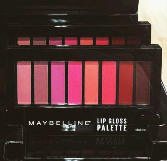 Spotted: NEW Maybelline Lip Gloss Palette   Nouveau Cheap