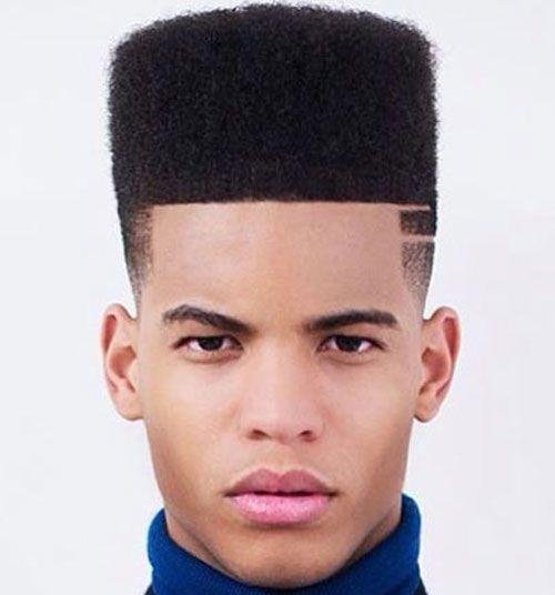Black Men Hairstyles - Flat Top