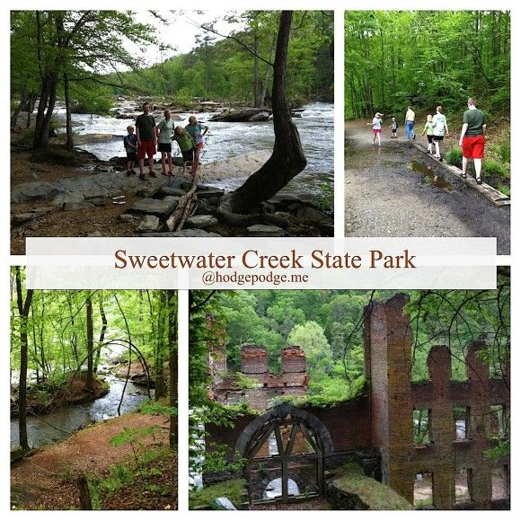 Sweetwater Creek State Park www.hodgepodge.me