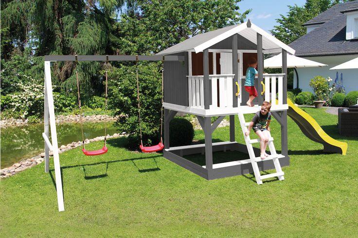52 besten kinderspielhaus bilder auf pinterest puppenh user spielhaus garten und holzrahmenhaus. Black Bedroom Furniture Sets. Home Design Ideas
