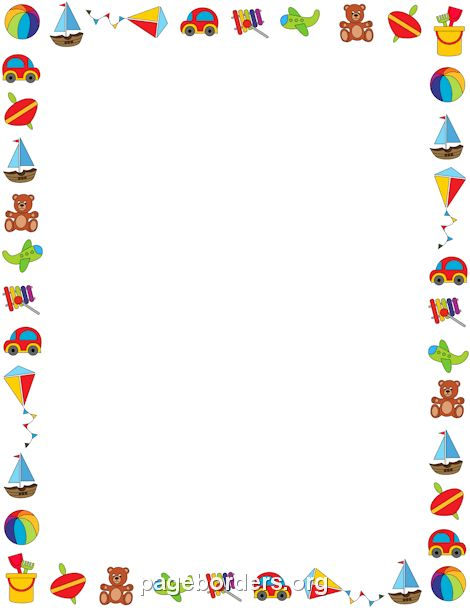 Boy Toys Border : Toy border trabalhos pinterest templates