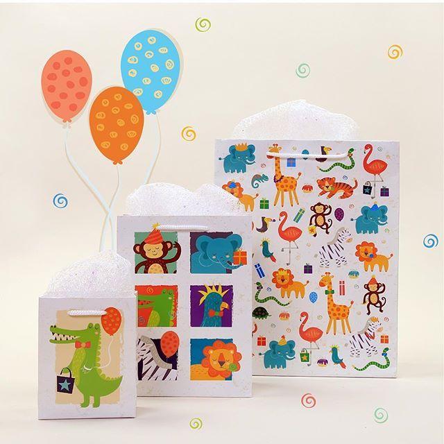 Buste Regalo per Party Bag Originali e Confezioni Regalo a Tema Zoo #puckatorpartybag