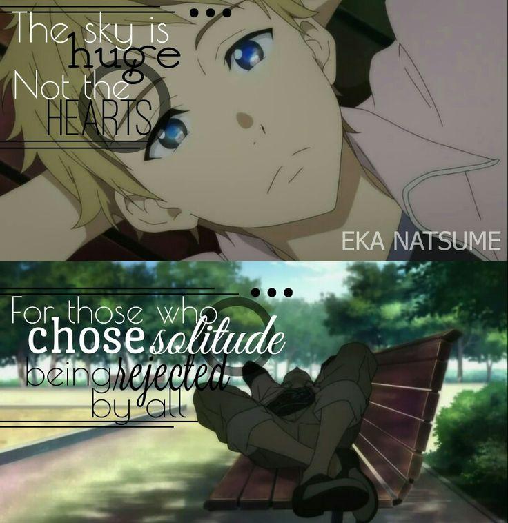 Anime: Beyond the boundary Editor : Eka Natsume