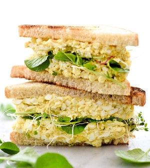 EGGS SANDWICH SALAD RECIPE