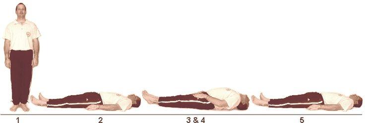 8. Pathi Meenasanam (Half Fish Pose)