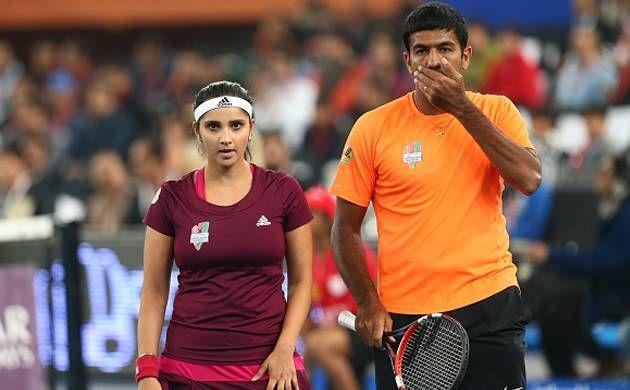 Sania Mirza, Rohan Bopanna Slams Veteran Tennis Player Leander Paes