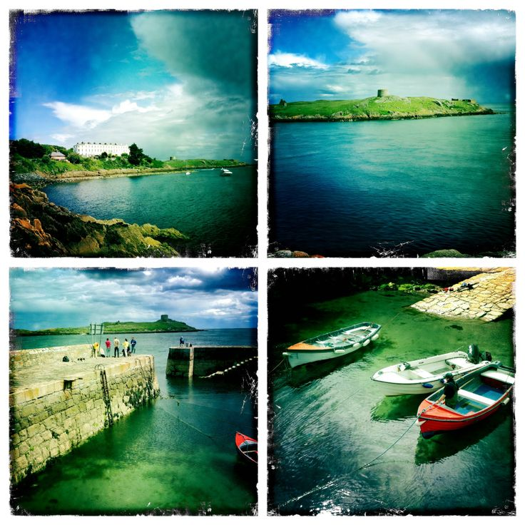 This is from a series I completed visiting the surrounding areas of dart stations in Dublin. This is Dalkey ... harbour,Island, and  vico terrace. www.essentia.ie