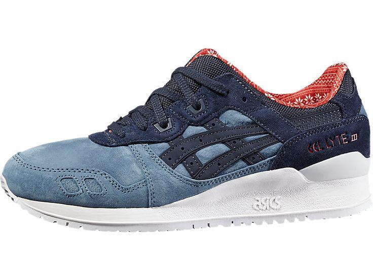 <p>Directement inspirée des années 90, la gamme GEL-LYTE a défini la norme en matière de chaussures de running légères. En trois générations, la GEL-LYTE III a conservé son style audacieux et coloré, ainsi que l'esthétique d'une chaussure de running, ce qui ne l'a cependant pas empêchée d'évoluer.</p>  <p>Gagnez sur les deux tableaux, à savoir le style unique et la performance. Ces sneakers suivent votre rythme de vie trépidant tout en vous mettant toujo...