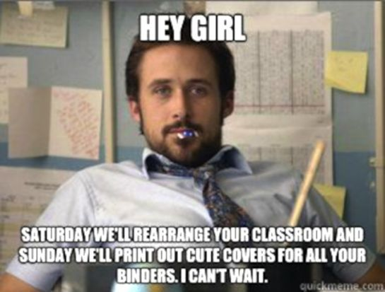 Funny Meme Teacher : Leave it to ryan truly appreciate the importance of