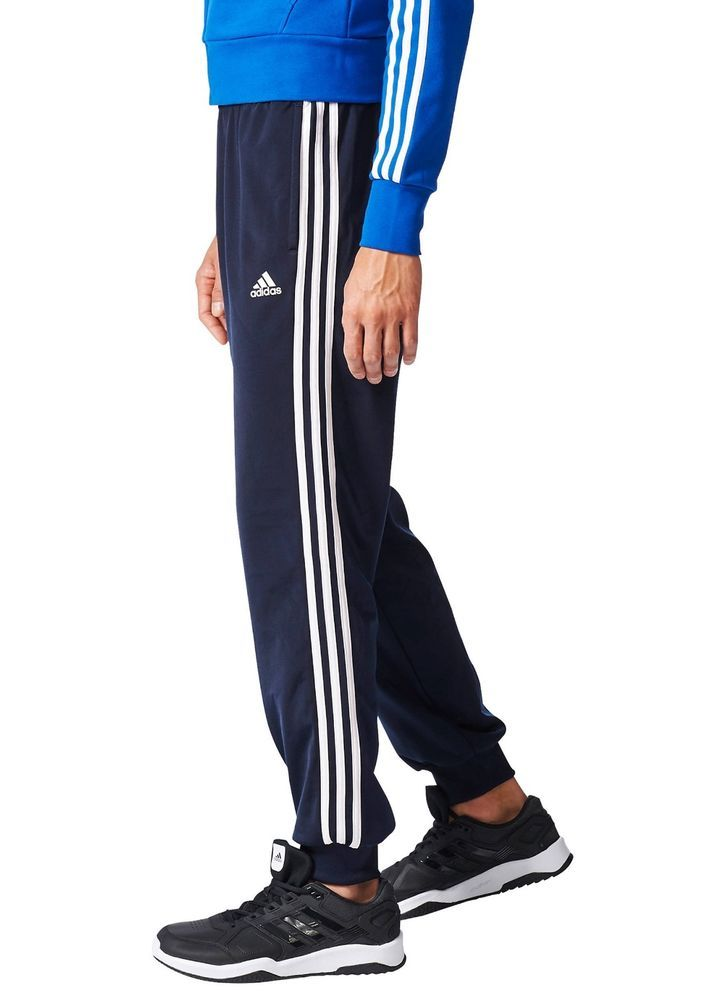20a63269e Adidas Mens XL 3 Striped Tricot Navy/White Tapered #Jogger Pants #adidas # Pants