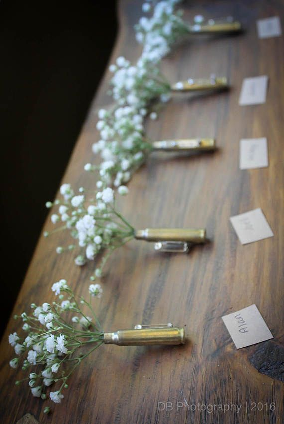 Wedding Boutineers FREE SHIPPING Bullet Boutonniere