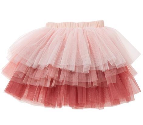 Designer Kidz Tiered Tuelle Shaded Skirt $34.95 $29.95 LESS 20%= $23.96
