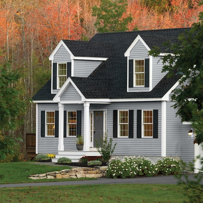 Georgia Pacific Forest Ridge Vinyl Siding Panel Double 5 Traditional Wedge 10 In X 144 In In The Vinyl S In 2020 Vinyl Siding Vinyl Siding Panels Vinyl Exterior Siding