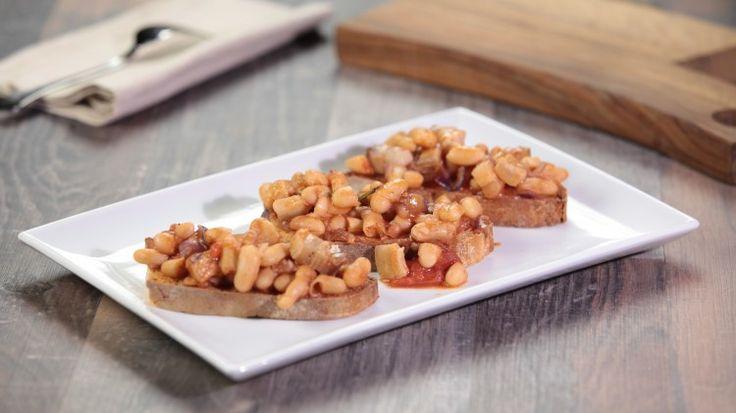 Crostini con fagioli e pancetta: le Vostre ricette    Cookaround