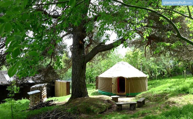 glamping in scotland looks amazing.