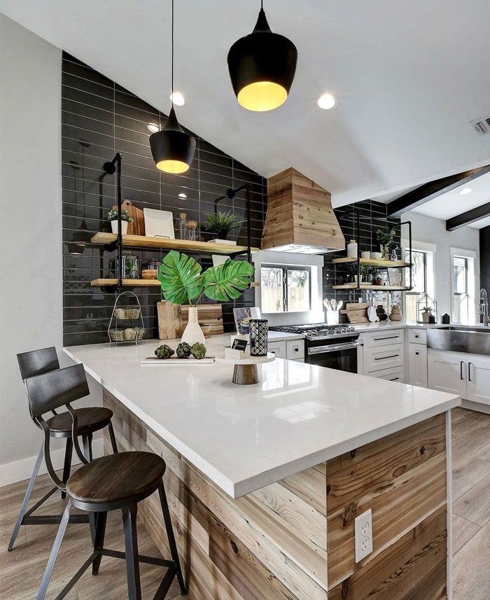 Best Open Concept Kitchen And Living Room – 55 Designs Ideas 640 x 480