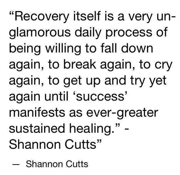 drug recovery speeches