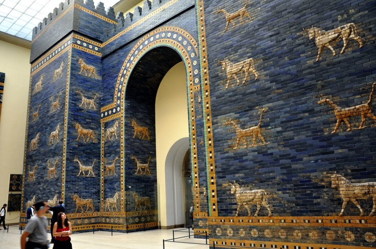 Puerta de Ishtar [Museo de Pérgamo, Berlín]
