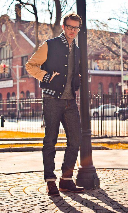 #men #style #varsity #jacket http://www.collegefashionista.com/christinadun/fashionisto-spotlight-terrence-freeman/