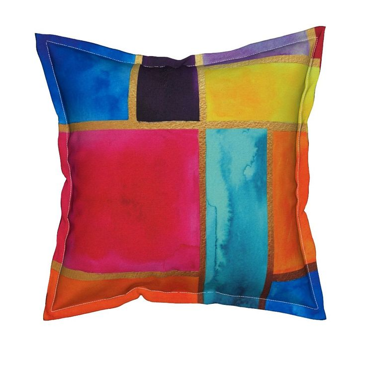 Serama Throw Pillow featuring Moroccan Stained Glass by jessmorris | Roostery Home Decor