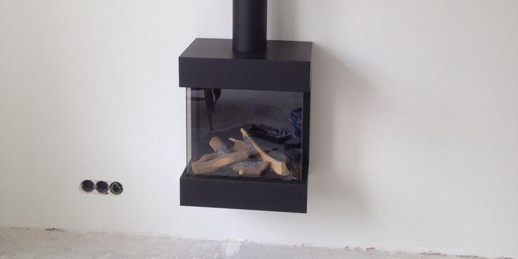 hip & happening woonkamer modern zwart driezijdig gas hangend rechthoekig