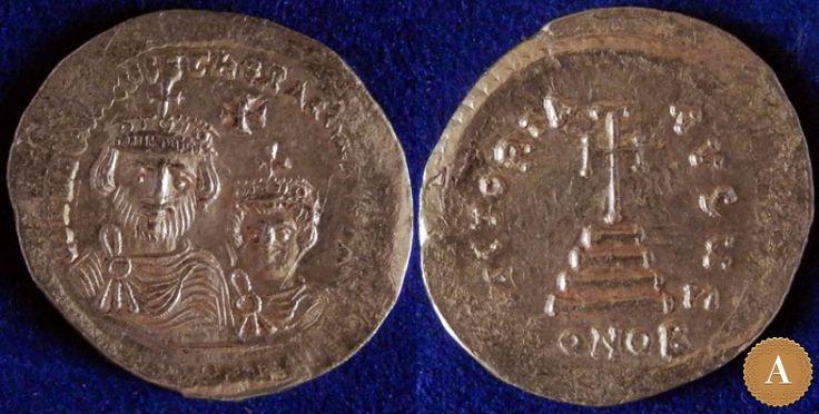 Византийская империя, Ираклий, 610-641 годы, солид. | ANDREY PYATYGIN ANCIENT COINS | Магазины | Антикварус