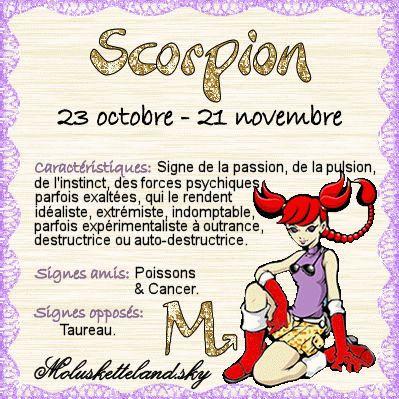 Mon signe astrologique ^.^
