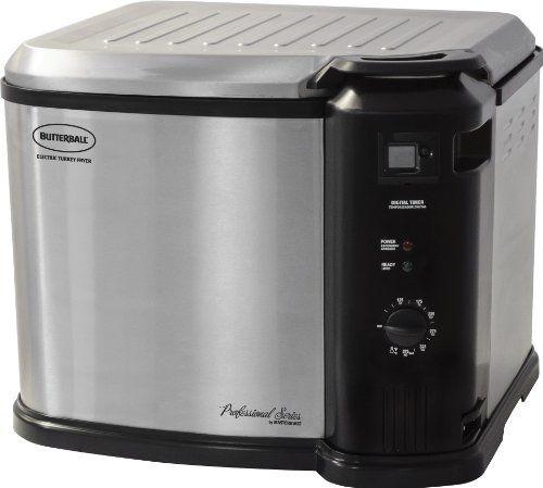 Masterbuilt 23011114 Butterball Indoor Gen III Electric Fryer Cooker Extra Large Capacity, 2013 Model