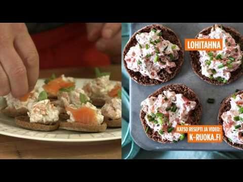 Wasabi-lohitahna   Alkuruoat   Reseptit – K-Ruoka