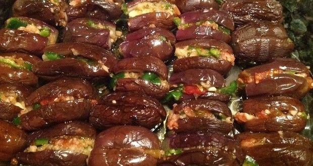 طريقة عمل المكدوس مكدوس الباذنجان السوري الشامي عالم المرأة Mediterranean Recipes Cooking Recipes Garlic Chicken Recipes