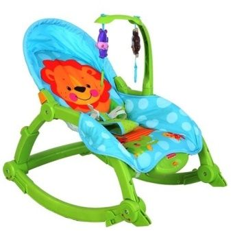 Baby Throne Newborn-to-Toddler Portable Musical Rocking Chair