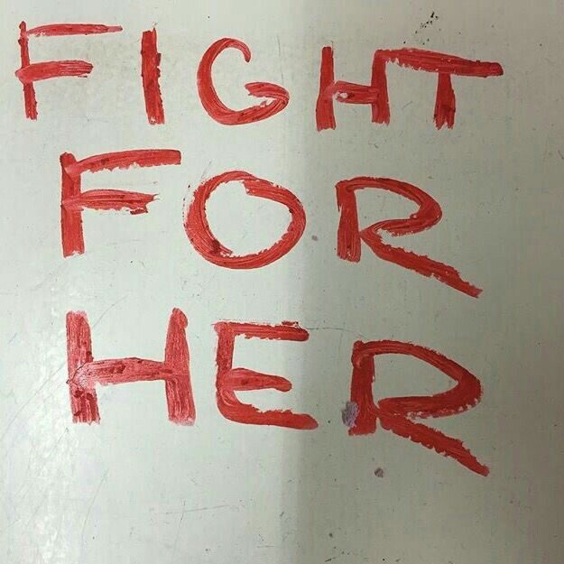 Fight for her or lose her..