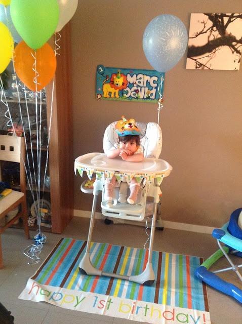 17 mejores ideas sobre primer cumplea os de circo en - Decoracion cumpleanos bebe 1 ano ...