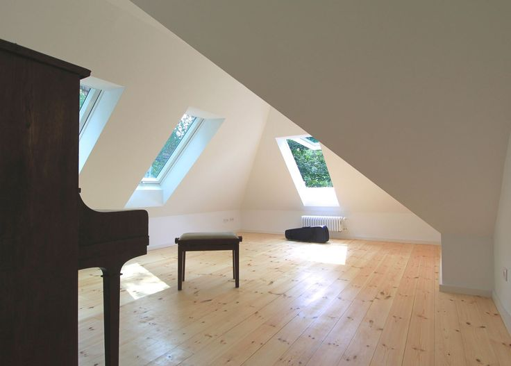 505 best vivere la mansarda images on pinterest   architecture ... - Zona Giorno Open Space