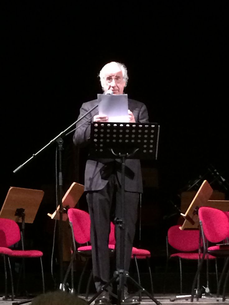 Toni Servillo legge Alfonso Gatto nel 40esimo anniversario della morte, Salerno Teatro Versi 8 marzo 2016