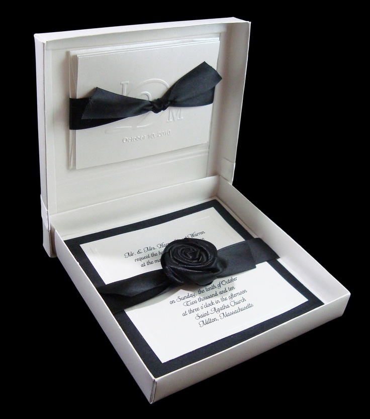 Items similar to Couture Invitation Handmade