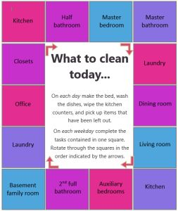 Lynda - Cleaning Schedule