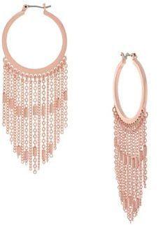 Jessica Simpson Rule Breaker Fashion - Hoop Chandelier Earrings $25.00 http://shopstyle.it/l/fp6R